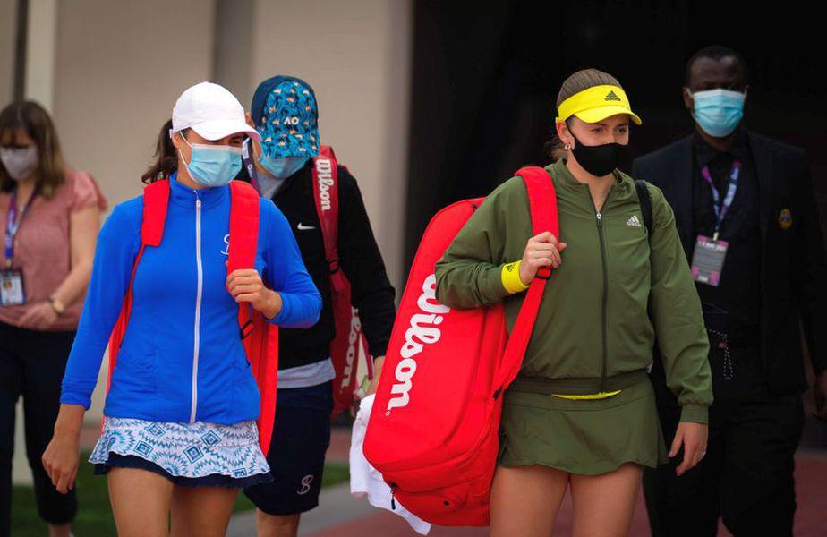 Perechea Monica Niculescu - Jelena Ostapenko a ajuns în semifinale la Doha // foto: Imago