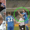 Momentul în care U Cluj nu a primit penalty cu Viitorul Pandurii Tg. Jiu