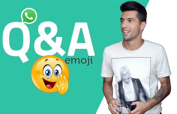 WhatsApp Q&A » Paul Pârvulescu intră în provocarea GSP: cum răspunde cu un emoticon la întrebări și afirmații inedite
