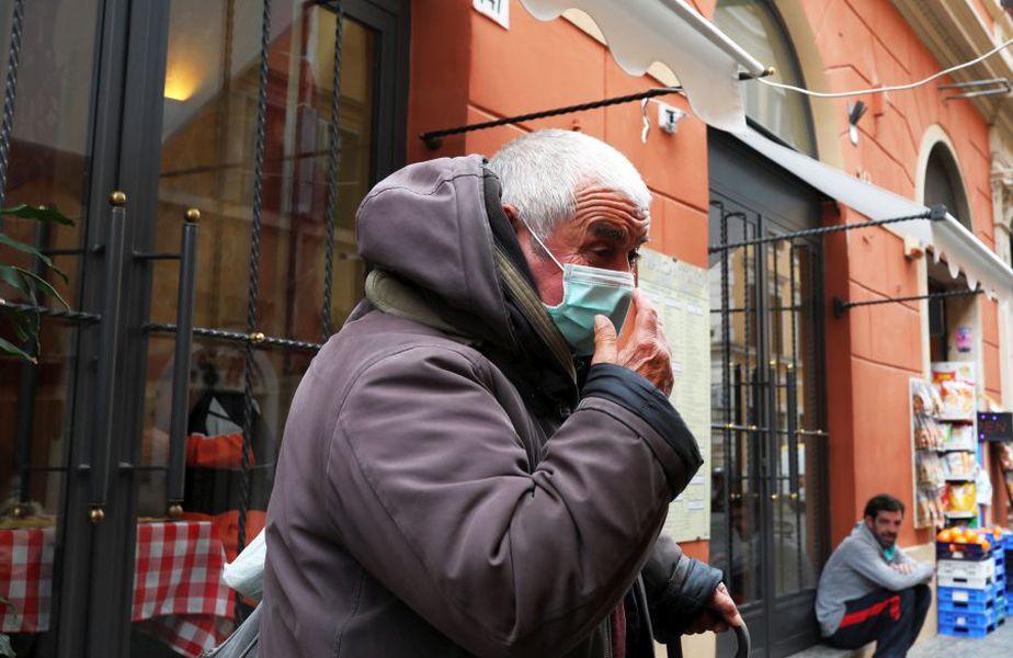 Autoritățile italiene au anunțat în această seară decesul a 681 de persoane în precedentele 24 de ore. foto: Guliver/Getty Images