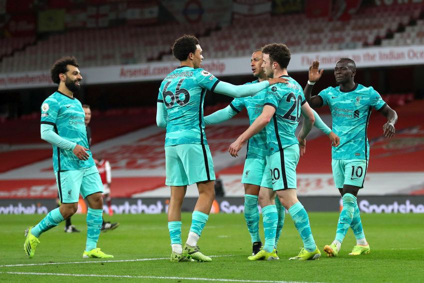 Liverpool a câștigat sâmbătă seara // foto: Guliver/gettyimages