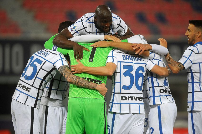 Inter a câștigat cu Bologna, 1-0 // foto: Guliver/gettyimages