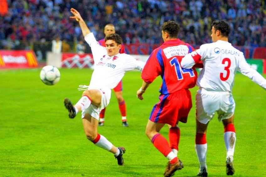 Ovidiu Stîngă a câștigat titlul alături de Dinamo, în sezonul 2001-2002. FOTO: GSP