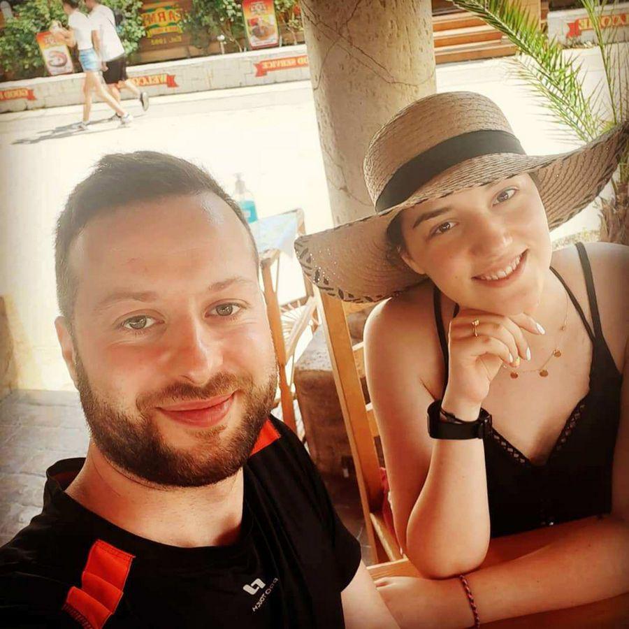 Daniel Mitroi și Adriana Teocan, cele două persoane incriminate de părinții Andrei Rusu FOTO Facebook