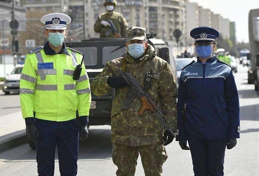 Poliția Română a aplicat amenzi usturătoare, și cu ajutorul Armatei