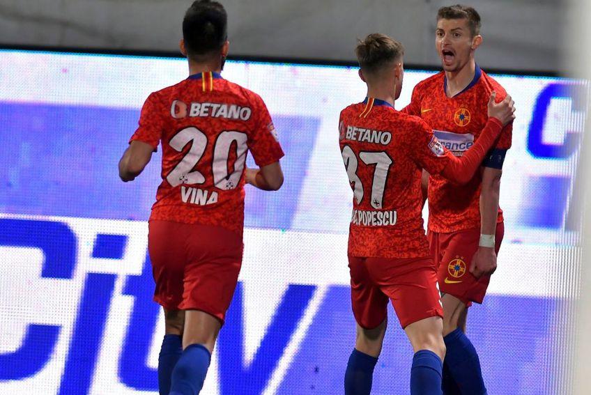 Octavian Popescu l-a felicitat pe Tănase, dar n-a scăpat de criticile lui Becali. Sursă foto: Facebook FCSB