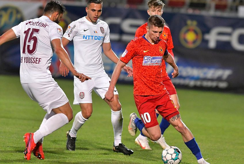 CFR Cluj a obținut dramatic un egal cu FCSB, 1-1 // FOTO: facebook.com/FCSBOfficial