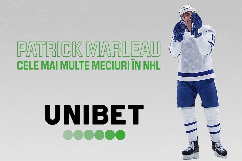 Canadianul Patrick Marleau (41 de ani) a devenit jucătorul cu cele mai multe prezențe în NHL, campionatul de hochei nord-american. Are în acest moment 1.768 de meciuri.