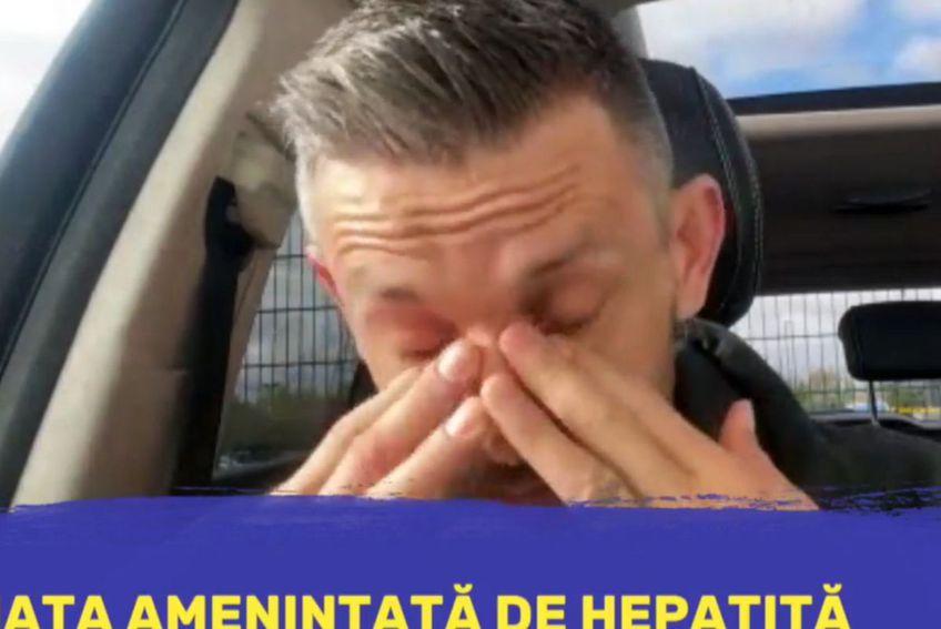 Adrian Sălăgeanu s-a emoționat în timpul intervenției de la GSP Live
