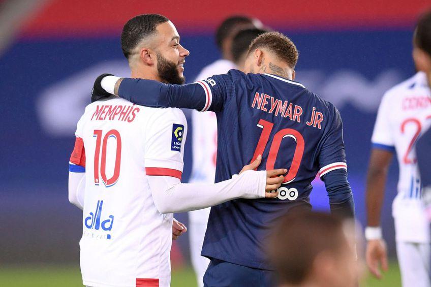 Neymar și Depay ar putea îmbrăca tricoul Barcelonei din sezonul viitor // Foto: Imago