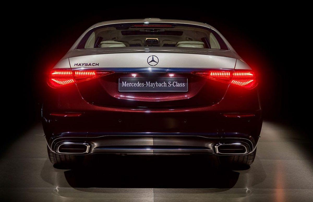 Mercedes Maybach - masina Gigi Becali