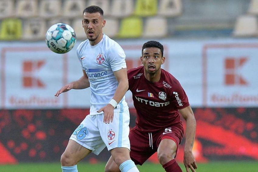 Oaidă, ironizat după meciul cu CFR Cluj
