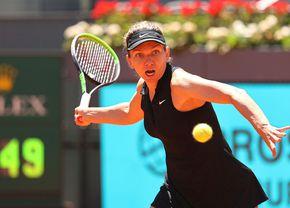 Simona Halep, eliminată de la Madrid! Meci de luptă cu Mertens, pierdut din cauza erorilor din decisiv