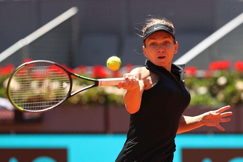 Simona Halep, lovitură de excepție în meciul cu Mertens // FOTO: Guliver/GettyImages