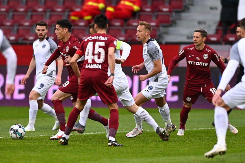 Academica Clinceni va juca pe arena propria arenă partida cu CFR Cluj, din runda cu numărul 6 a play-off-ului Ligii 1.