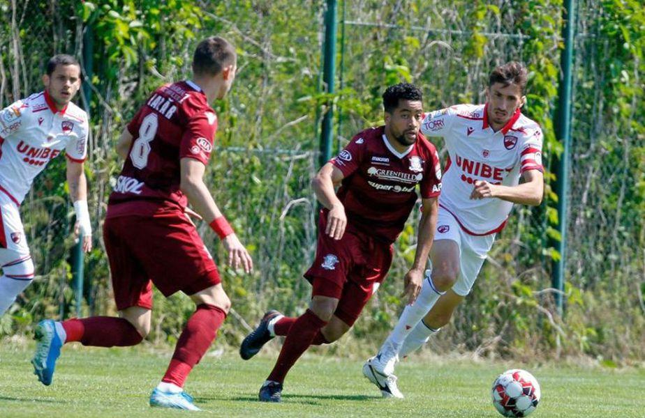 Dinamo - Rapid. Sursă foto: fcdinamo.ro