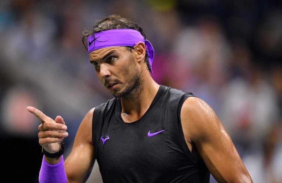 Rafael Nadal anul trecut la US Open