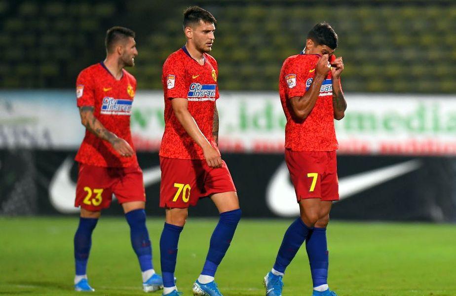FCSB a pierdut amicalul cu Voluntari, scor 0-2