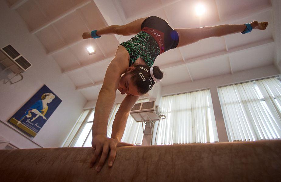 Silviana Sfiringu se pregătește pentru debutul la senioare // FOTO: Raed Krishan