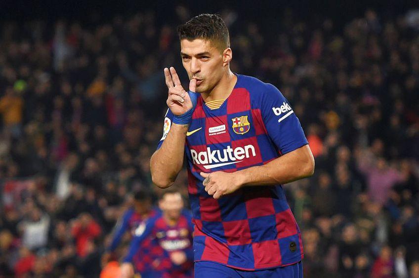 Luis Suarez a marcat în meciul din tur contra celor de la Mallorca // sursă foto: Guliver/gettyimages