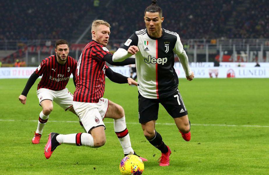 Juventus - Milan va decide prima finalistă a Cupei Italiei // sursă foto: Guliver/gettyimages