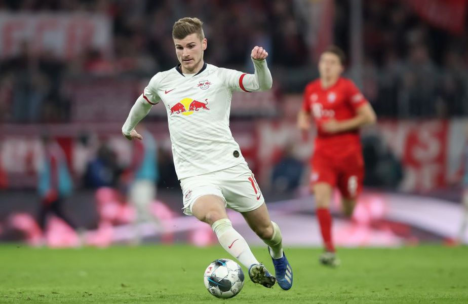 Timo Werner are un sezon excepțional la RB Leipzig // sursă foto: Guliver/gettyimages