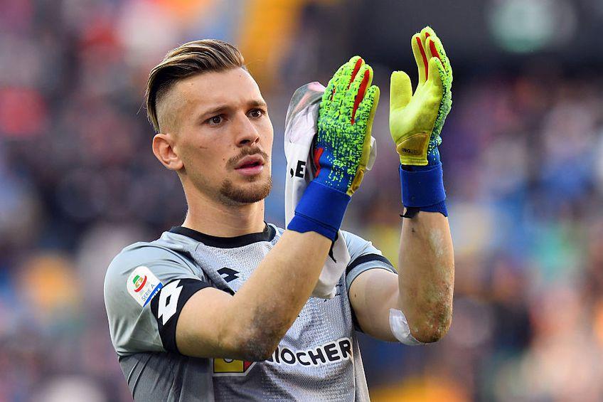 Ionuț Radu e acum rezervă la Parma // FOTO: Guliver/GettyImages