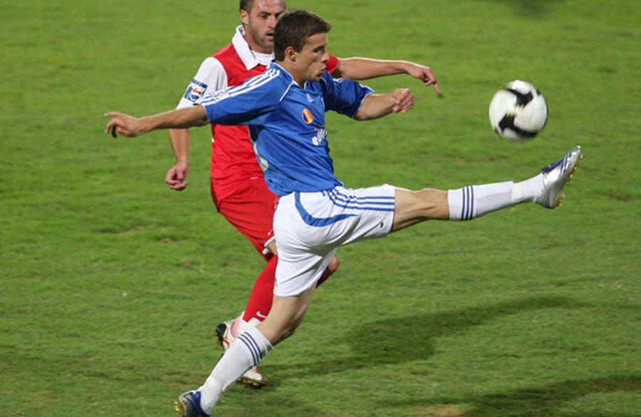 Gângioveanu a impresionat la începutul carierei la Universitatea Craiova