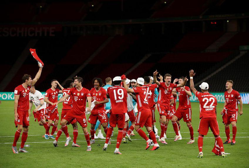 Bayern Munchen a ajuns la 20 de Cupe câștigate