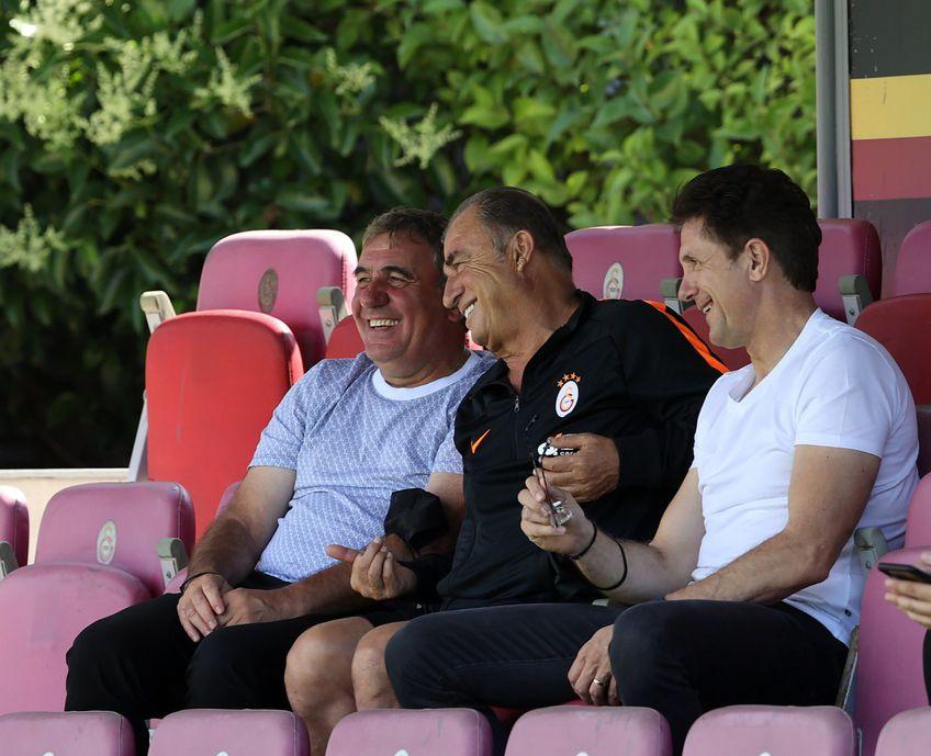 Gică Hagi, Gheorghe Popescu și Fatih Terim