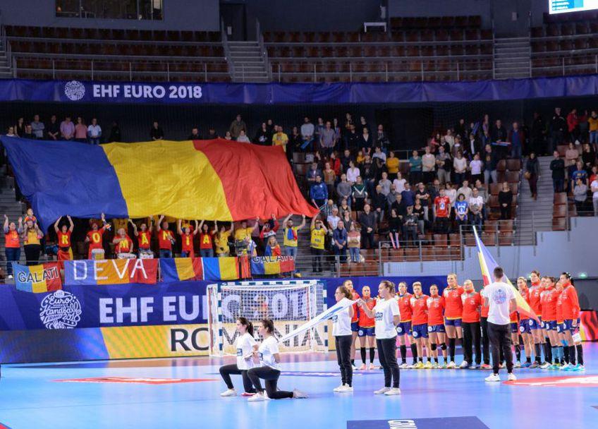 Naționala României, la ultimul turneu final european, Franța 2018 FOTO Dan Potor