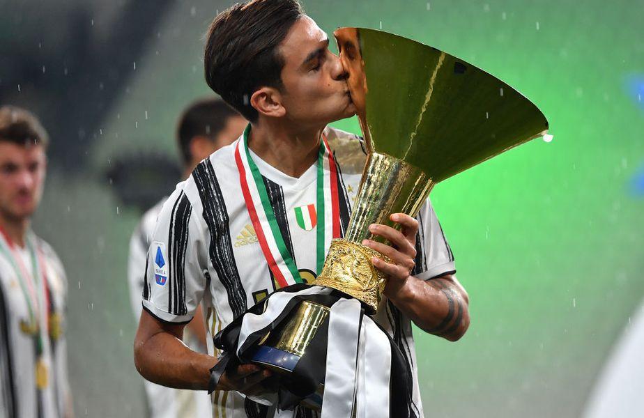 Dybala i-a suflat lui Ronaldo titlul pentru cel mai bun jucător din Serie A
