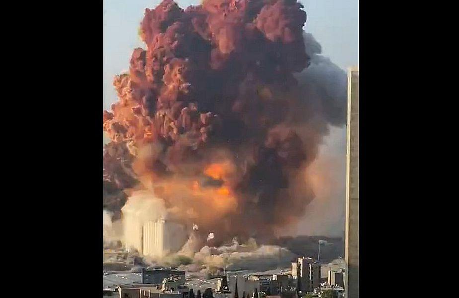 Explozie uriașă în Beirut