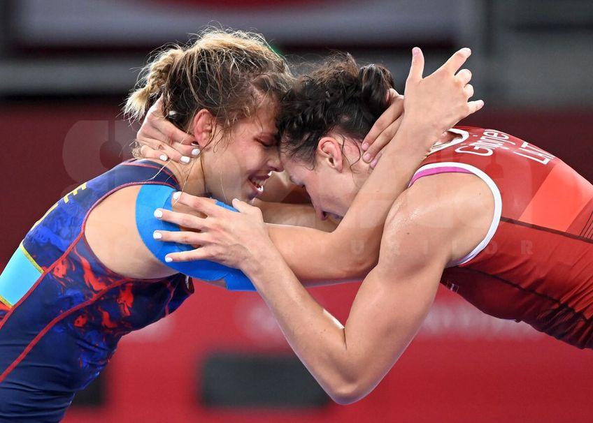 Krista Incze, 25 ani, n-a reușit să acceadă spre meciul pentru bronz la lupte // FOTO: Raed Krishan