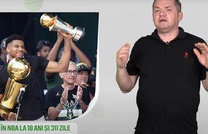 5 minute de sport olimpic - Giannis Antetokounmpo, eroul din NBA