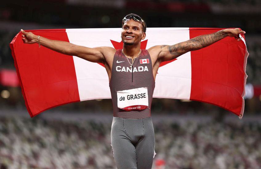 Andre Grasse, medaliat cu aur la Jocurile Olimpice Foto:GettyImages