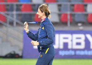 Moment impresionant pe Ghencea » Ana Maria Popescu a fost ovaționată înainte de Steaua - Csikszereda