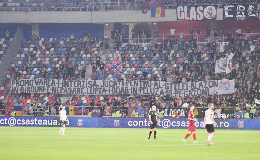 Steaua a învins-o pe Csikszereda, scor 1-0, la debutul în Liga 2. Daniel Oprița (39 de ani) nu a fost pe deplin mulțumit de prestația elevilor săi.