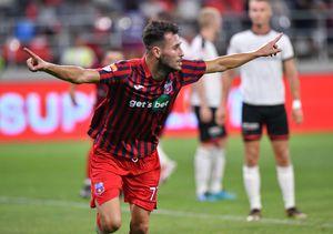 CSA Steaua - Csikszereda, decis de omul-istorie! Chipirliu a marcat și primul gol oficial în Ghencea