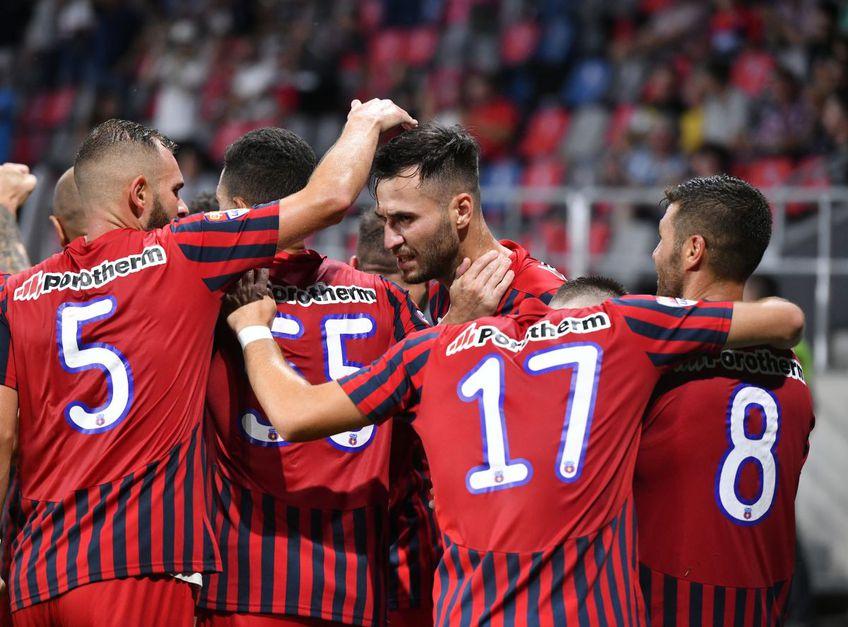 Valentin Bărbulescu (35 de ani) spune că fanii au contat decisiv în victoria obținută de Steaua în fața celor de la Csikszereda, scor 1-0, în prima etapă a ligii secunde.