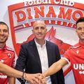 De la stânga la dreapta: Alexander David Gonzalez, Rufo Collado și Ismael Lopez Blanco // Sursă foto: https://www.facebook.com/FCDinamoOfficial