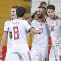 Dominik Szoboszlai, nr. 10, a înscris un gol superb din lovitură liberă. Și Ungaria a învins Turcia, 1-0. Foto: Reuters