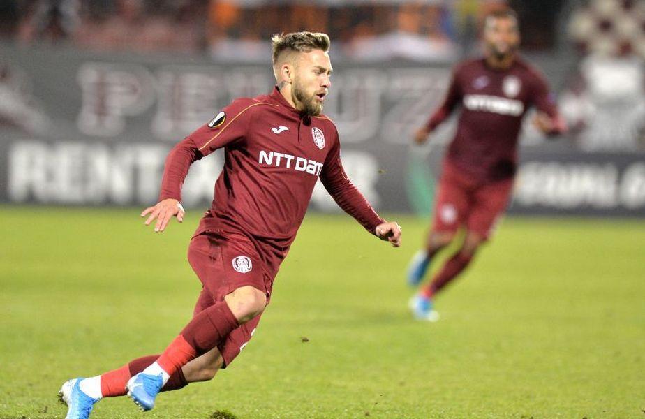 Cătălin Golofca a fost împrumutat un an de CFR Cluj la Sepsi