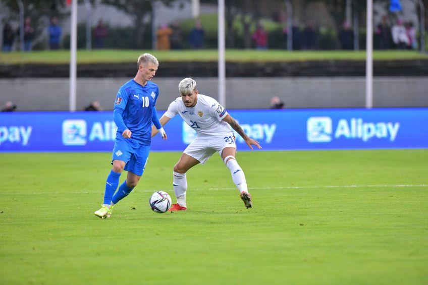 Andrei Rațiu a fost una dintre surprizele plăcute ale meciului cu Islanda