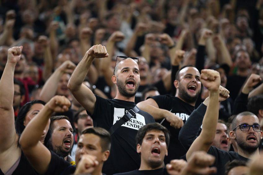 Fanii Ungariei înainte de meciul cu Anglia // foto: Guliver/gettyimages