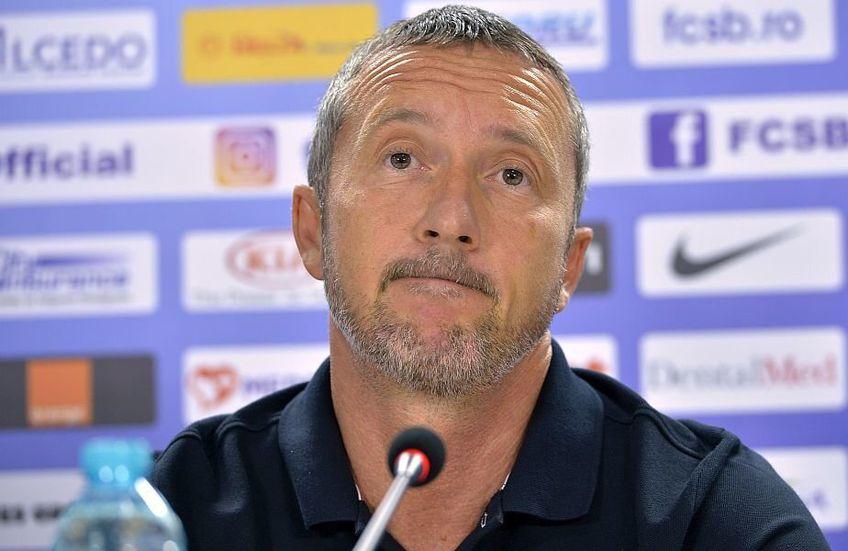 MIhai Stoica se bucură de victoria cu Dinamo