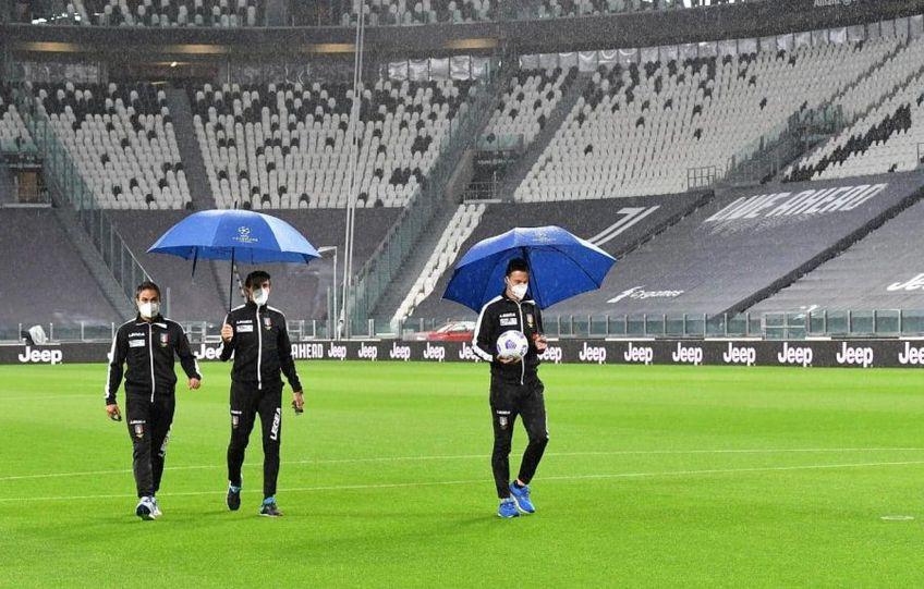 În această seară ar fi trebuit să aibă loc meciul Juventus - Napoli, din Serie A. Partida nu se va juca, întrucât autoritățile sanitare au interzis oaspeților să facă deplasarea la Torino