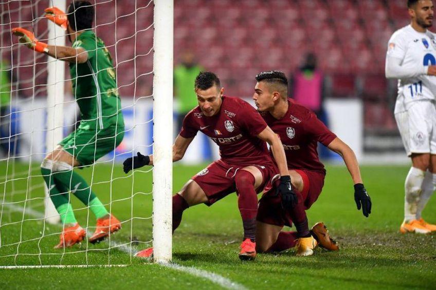 CFR Cluj a pierdut cu Gaz Metan etapa trecută, scor 1-2