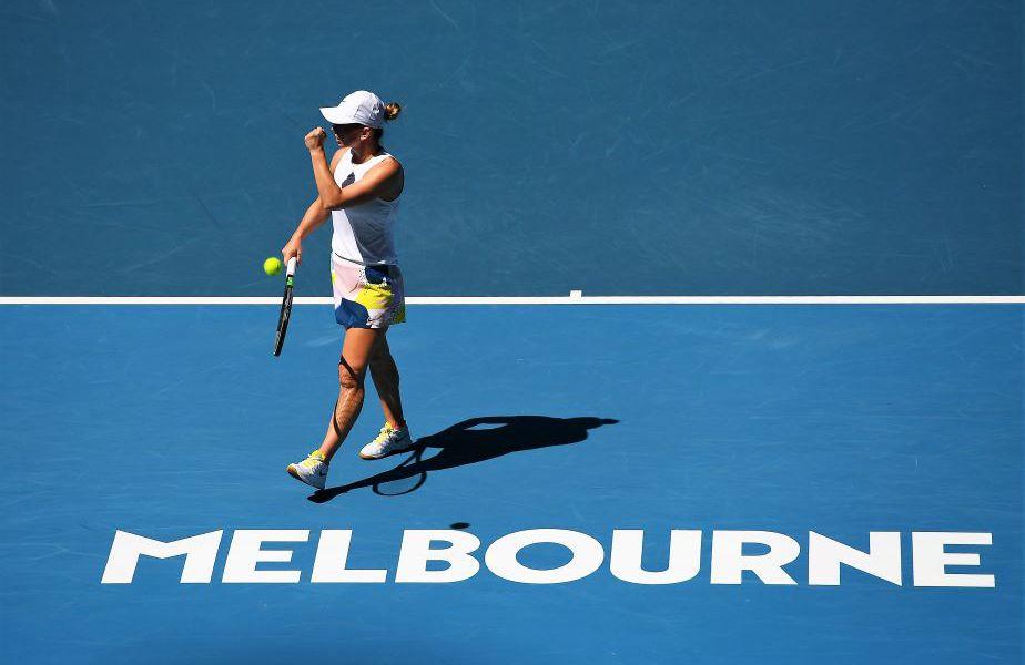 Simona Halep a atins anul acesta semifinalele de la Australian Open Foto Guliver/GettyImages