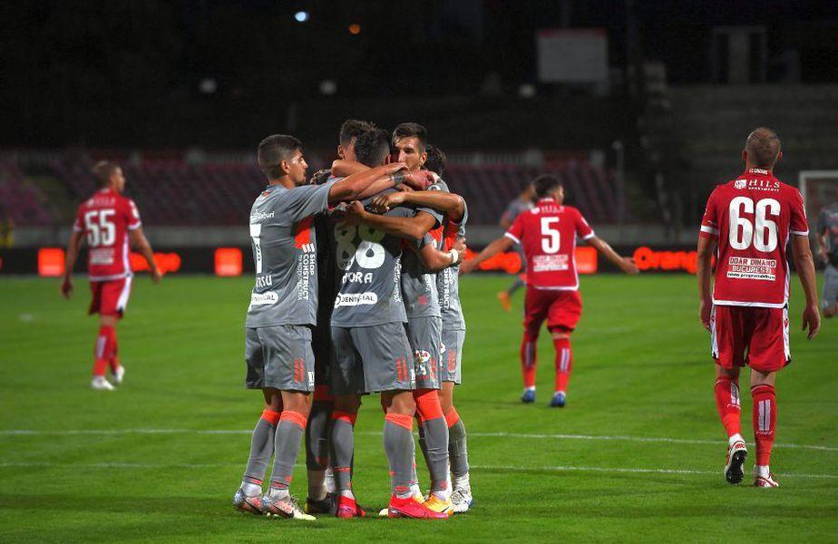 UTA a câștigat cu Dinamo în deplasare, 1-0